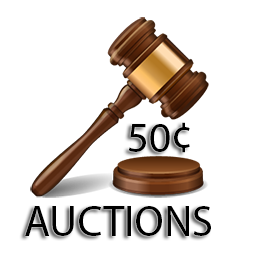 50 Cent Auctions
